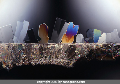 sugar  under the microscope microscopic food photography art photo microscopy artwork
