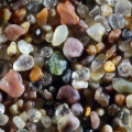 Sand grains under the microscope microscopic sand photography art photo microscopy artwork Gary Greenberg